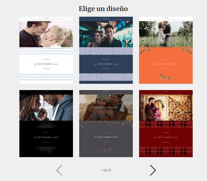 Paso a paso para crear tu Web de Matrimonio 👇📱 1
