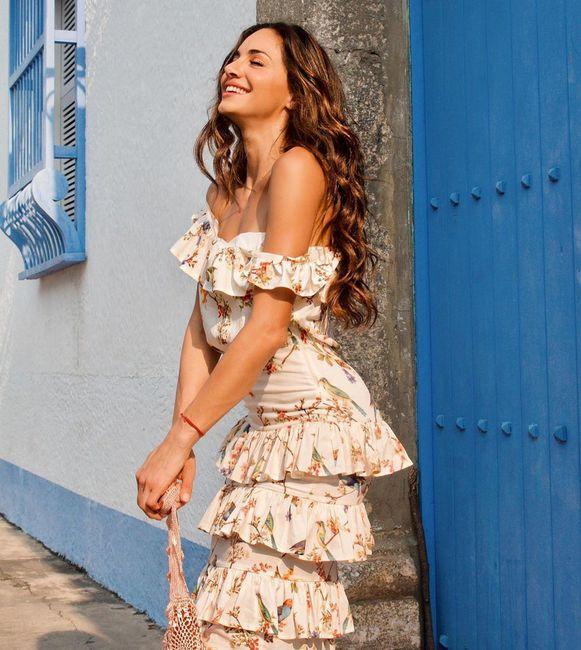 ¿Cuál de estos ouftifs de Valerie Domínguez pega más con el estilo de tu matrimonio? 6