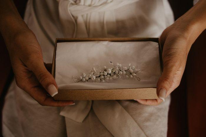 ¿Usarías algún accesorio heredado de otra novia? 1