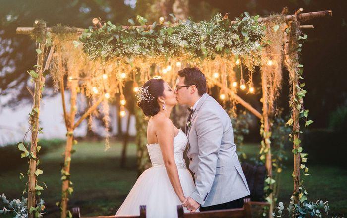 ¿Matrimonio al aire libre? INSPÍRATE aquí 🍃 1