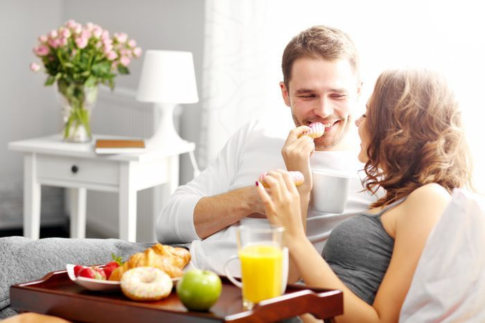 ¿Cuándo fue la última vez que se llevaron el desayuno a la cama? 1