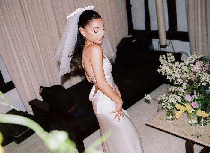 Des photos inédites du mariage de la chanteuse : Ariana Grande 💕 6