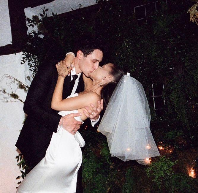 Des photos inédites du mariage de la chanteuse : Ariana Grande 💕 9