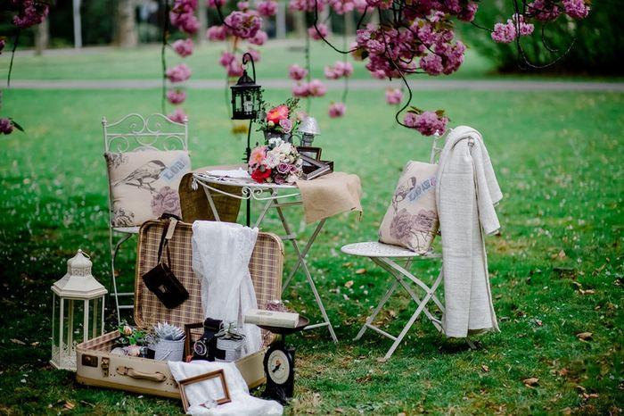 Top Wedding Trends: ¡Rincones vintage como elemento decorativo! 1