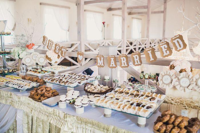 3 mesas dulces, ¿cuál? 1