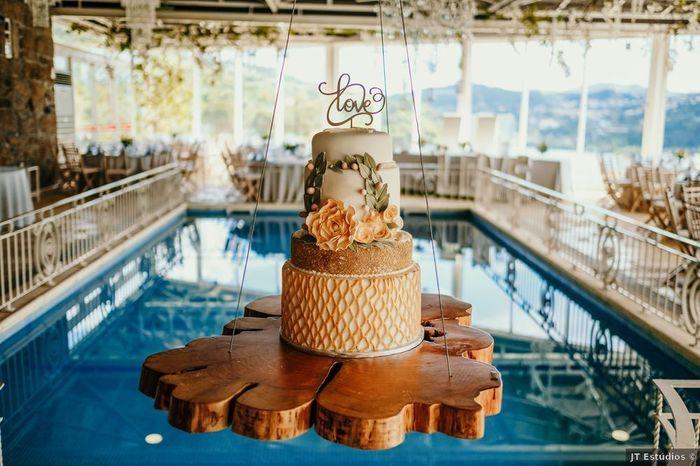 Una torta colgante: ¿Quién dijo yo la quiero? 1