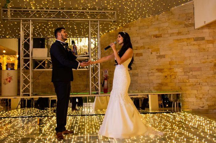 ¿Piensan cantar en su matrimonio? 1