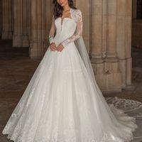 5 vestidos de novia corte PRINCESA 2021: ¿Cuál es para ti? - 2