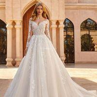 5 vestidos de novia corte PRINCESA 2021: ¿Cuál es para ti? - 3