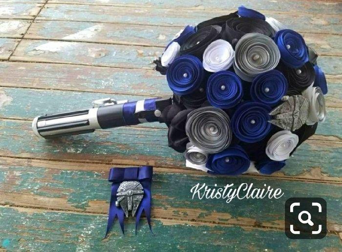 ¿Cómo quieren su bouquet de novia? 7