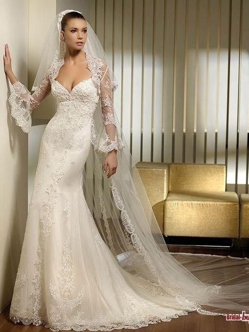 Vestidos de novia sin velo
