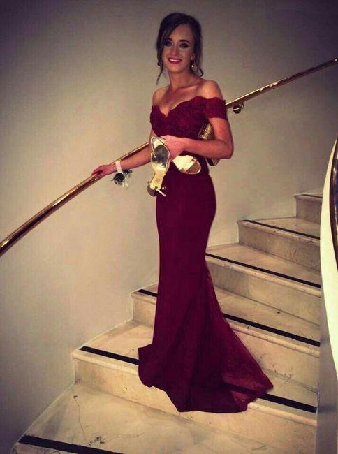 b3f68af28d Vestidos largos para las damas de honor - 2
