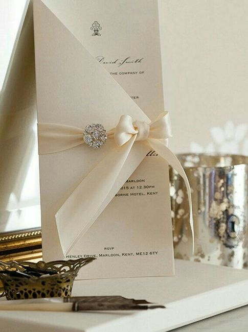 Modelos de tarjetas para bodas elegantes o vintage - 16