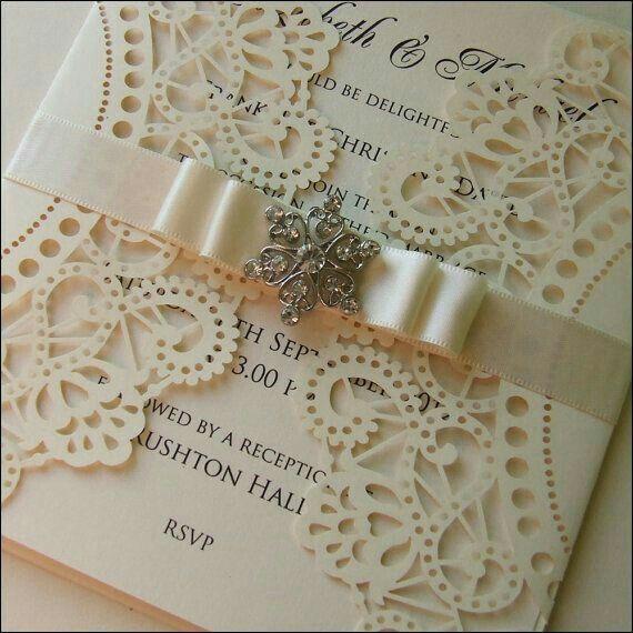 Modelos de tarjetas para bodas elegantes o vintage - 18
