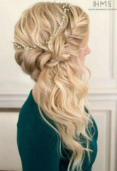 Peinados para vestidos de fiesta strapless
