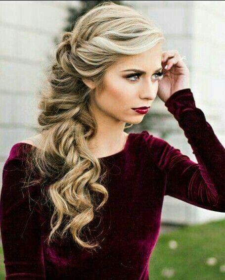 peinado para vestido strapless