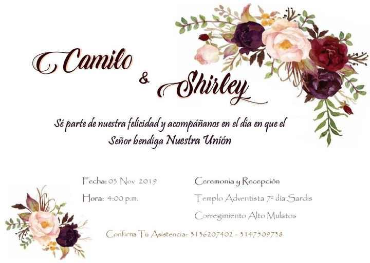 Invitaciones - 1