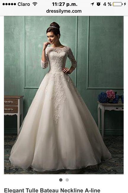 6da497f3d5 Comprar vestido de novia por internet - 1