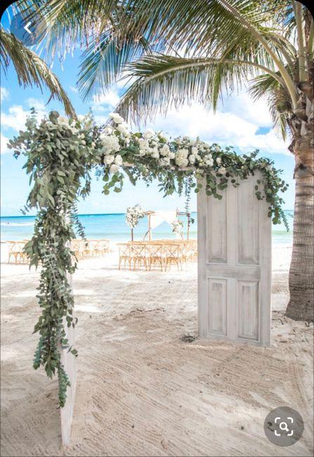 Ma. Angélica mi matrimonio en 3 imágenes ☀️🌊💙 - 1