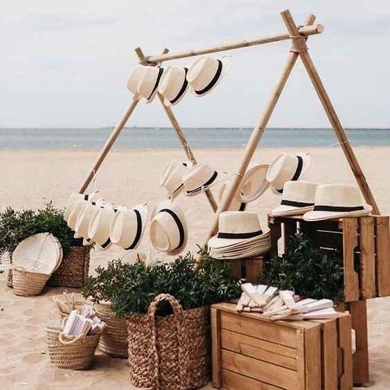 Recordatorios boda en la playa - 1