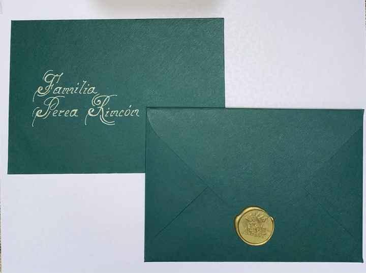 Nuestras tarjetas de invitación - 1