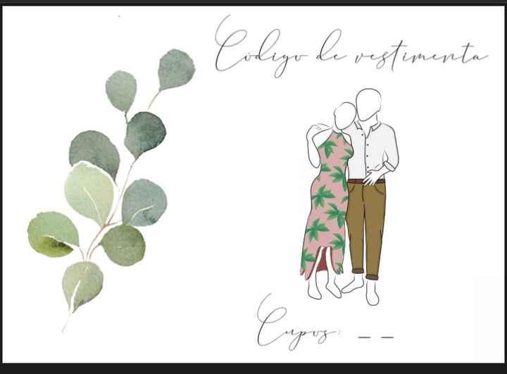 PON AQUÍ 👇 el Dress Code de tu matrimonio... - 1