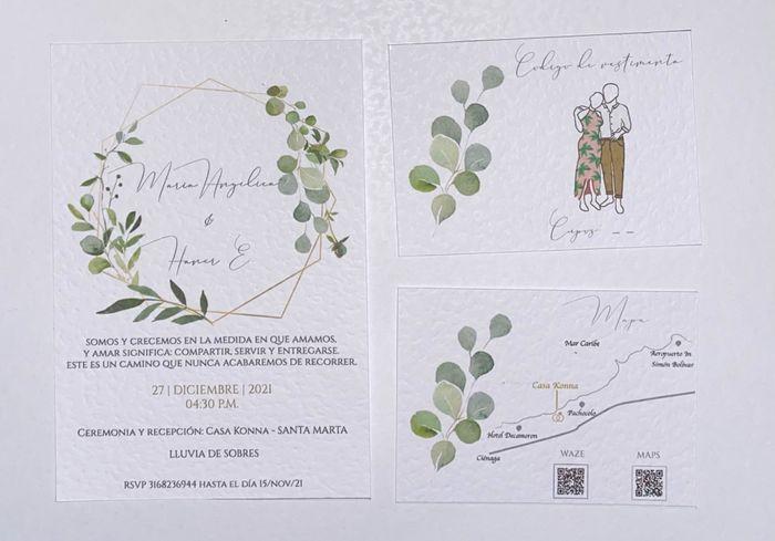 Nuestras tarjetas de invitación - 2