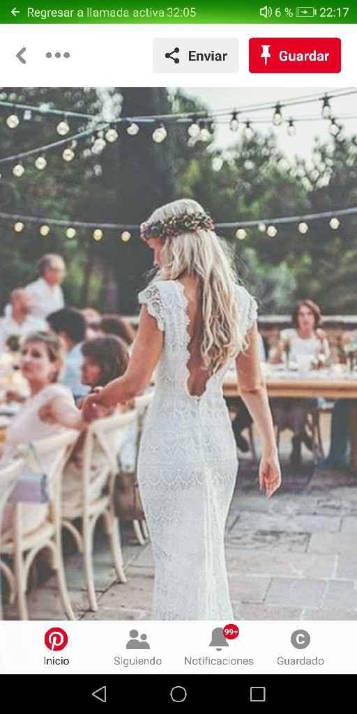 ¿Cómo es el vestido de novia de tus sueños? - 1