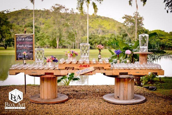 Decoraciones campestres for Decoracion boda campestre