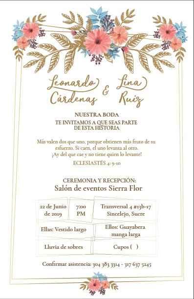 Nuestras invitaciones - 2