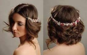 Peinados Para Novias Cabello Corto - Peinados-para-novias-pelo-corto