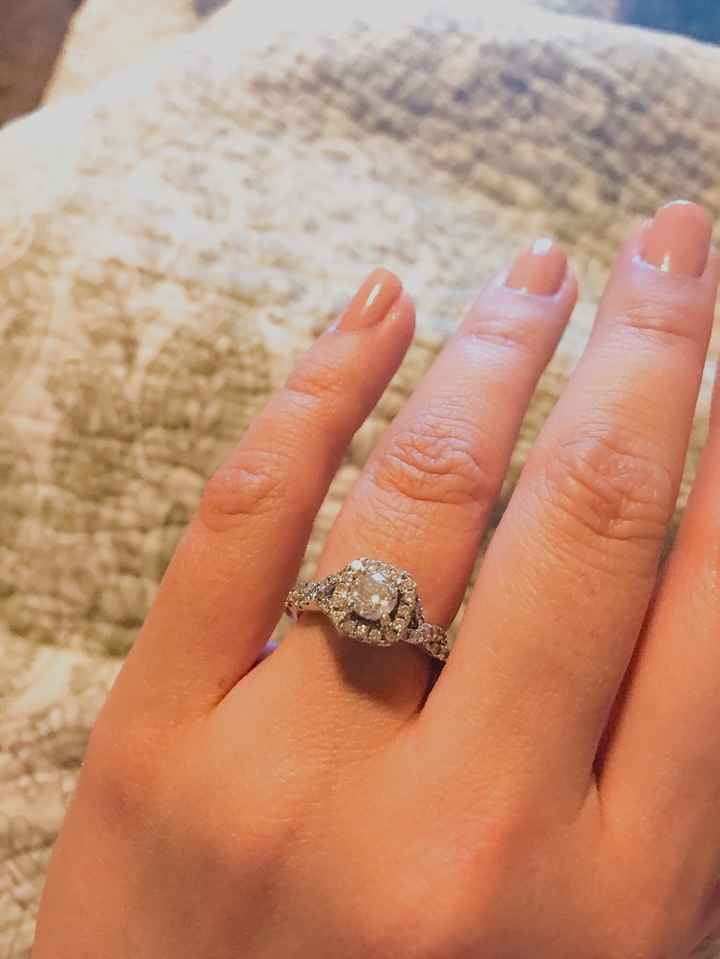 Cuéntanos, ¿cuándo usas tu anillo de compromiso? - 1