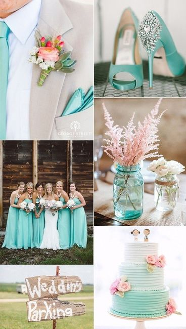 Colores para decorar bodas
