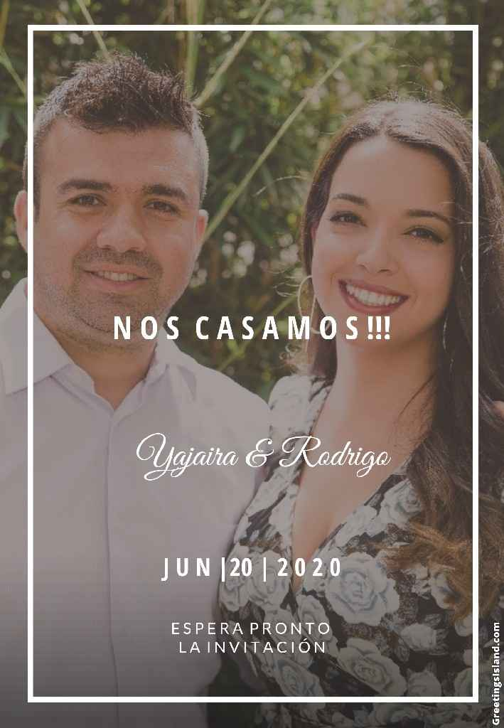7 Save the Date de las aminovias de la comu ❤️ - 1