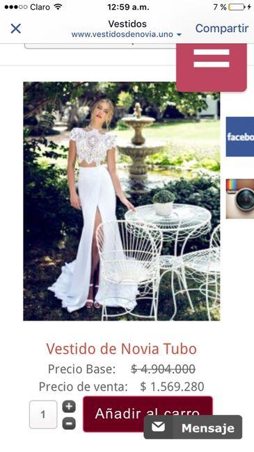 Outlet vestidos de novia - 1