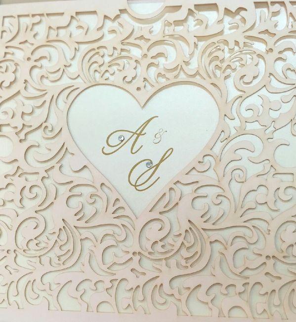 Modelos de tarjetas para bodas elegantes o vintage - 1