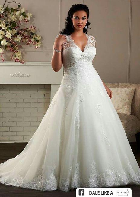 50a099213 Vestidos de novia para novias con curvas