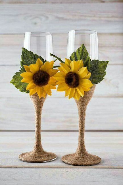 Decoracion Con Girasoles