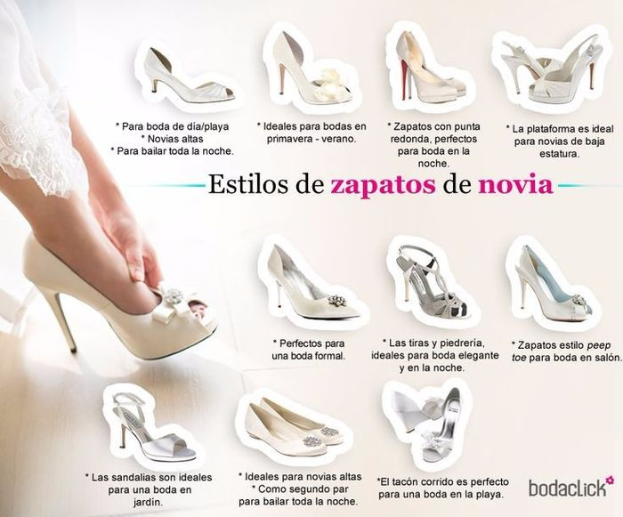 como escoger tus zapatos para la boda