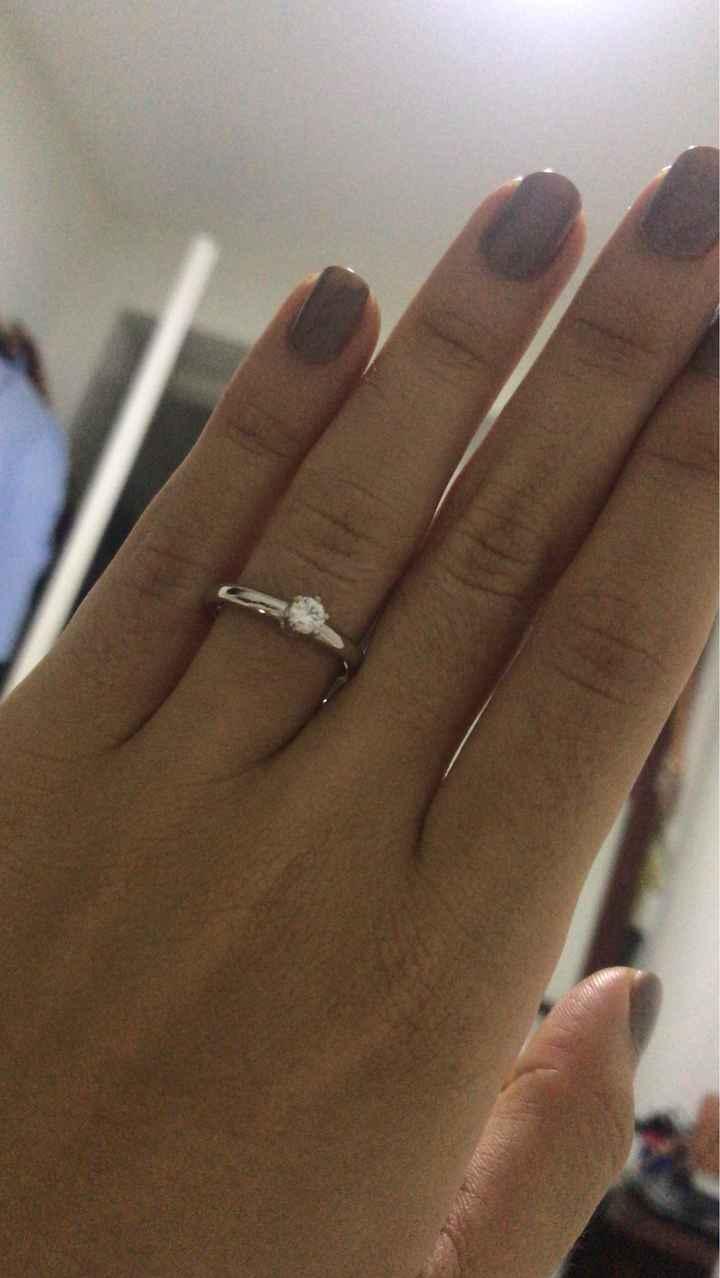 ¿Quién eligió el anillo de compromiso, tú o él? Compártelo 💍 - 2