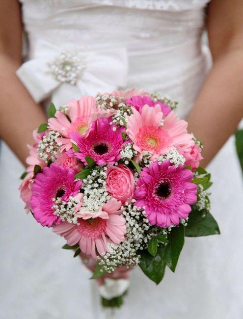 ¿Cómo quieren su bouquet de novia? 8