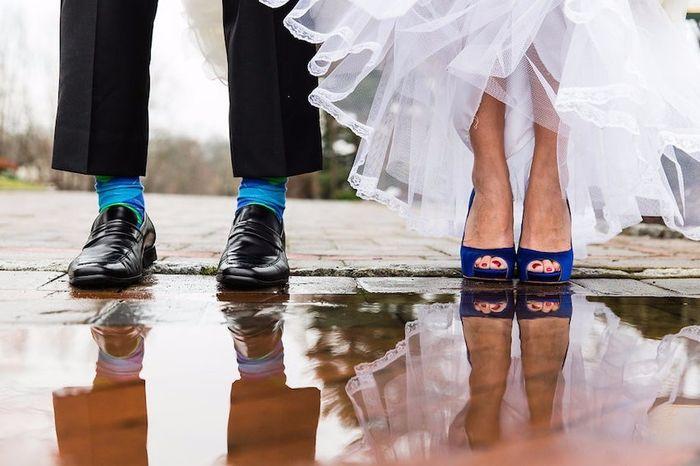 ce05d546cb 6 zapatos azules para novia ¿cuáles escogés