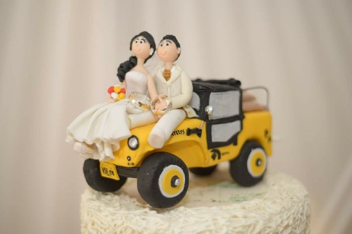 Cake toppers lindos y diferentes!! - 1
