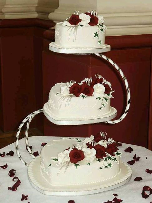 square wedding cake designs uk pasteles en forma de corazon 20385