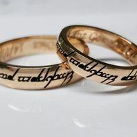 Mis anillos se matrimonio, por fin - 1