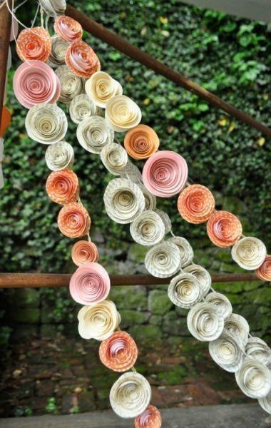 decoracin de bodas con material reciclado y ecolgico