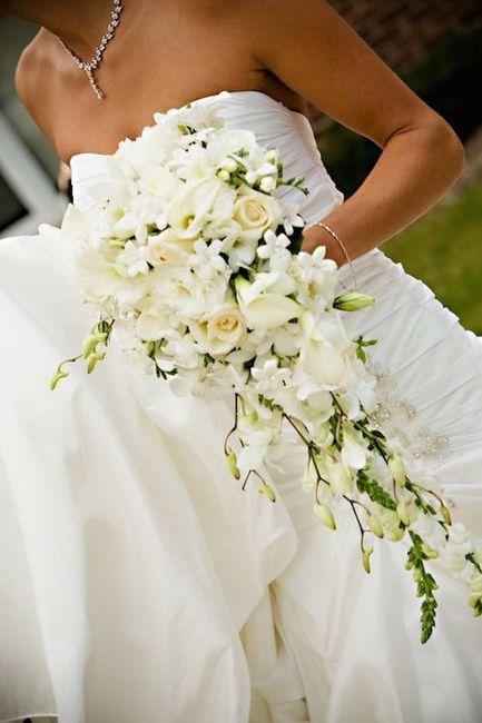 ¿Cómo quieren su bouquet de novia? 11