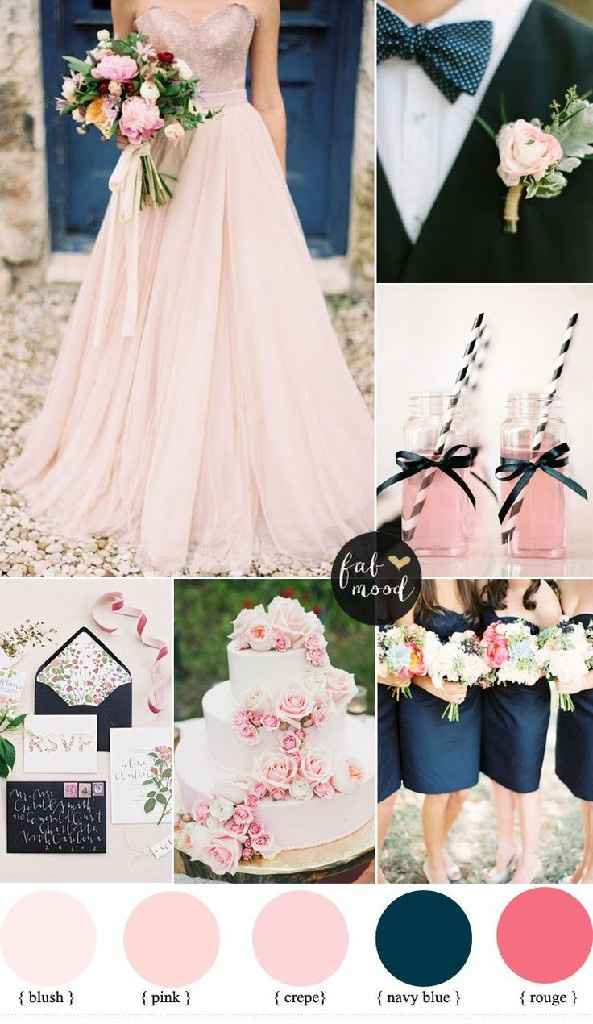 Ideas Navy & Blush - 1
