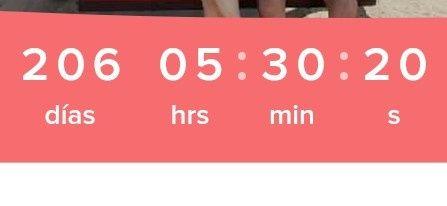 ¿Cuántos días faltan para tu matrimonio? 6