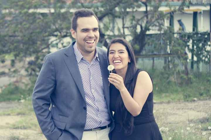 Sesión de fotos anunciando  el compromiso... nos lo gozamos! - 5